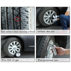Image 5 - Auto Tire Repair Kit Emergency Vacuüm Band Snelle Reparatie Tool Inner Rubber Strip Bonding Kofferbak Motorfiets Draagbare Fietsband Tool