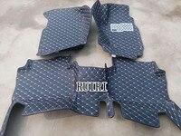 Хорошие коврики! Специальные автомобильные коврики для правой руки привод Toyota Hilux Revo 2018 2015 водонепроницаемые ковры для Hilux Revo 2017