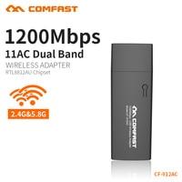 COMFAST CF 912AC Gigabit 1200mbps 11AC Dual Band Usb 3 0 Port Wireless Network Card Portable
