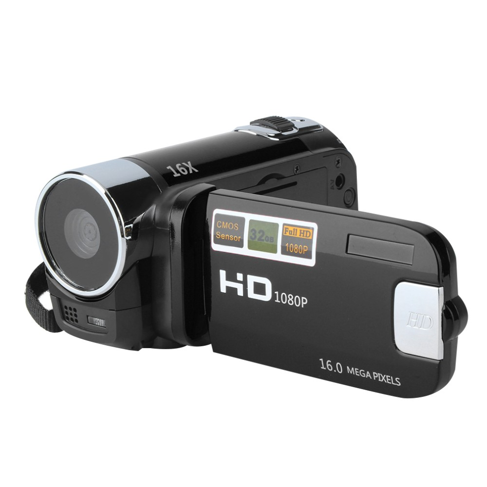 New 2.7'' TFT LCD 720P Digital Video Camcorder 16x Zoom DV Camera Supports HDMI Video Output Red/Black