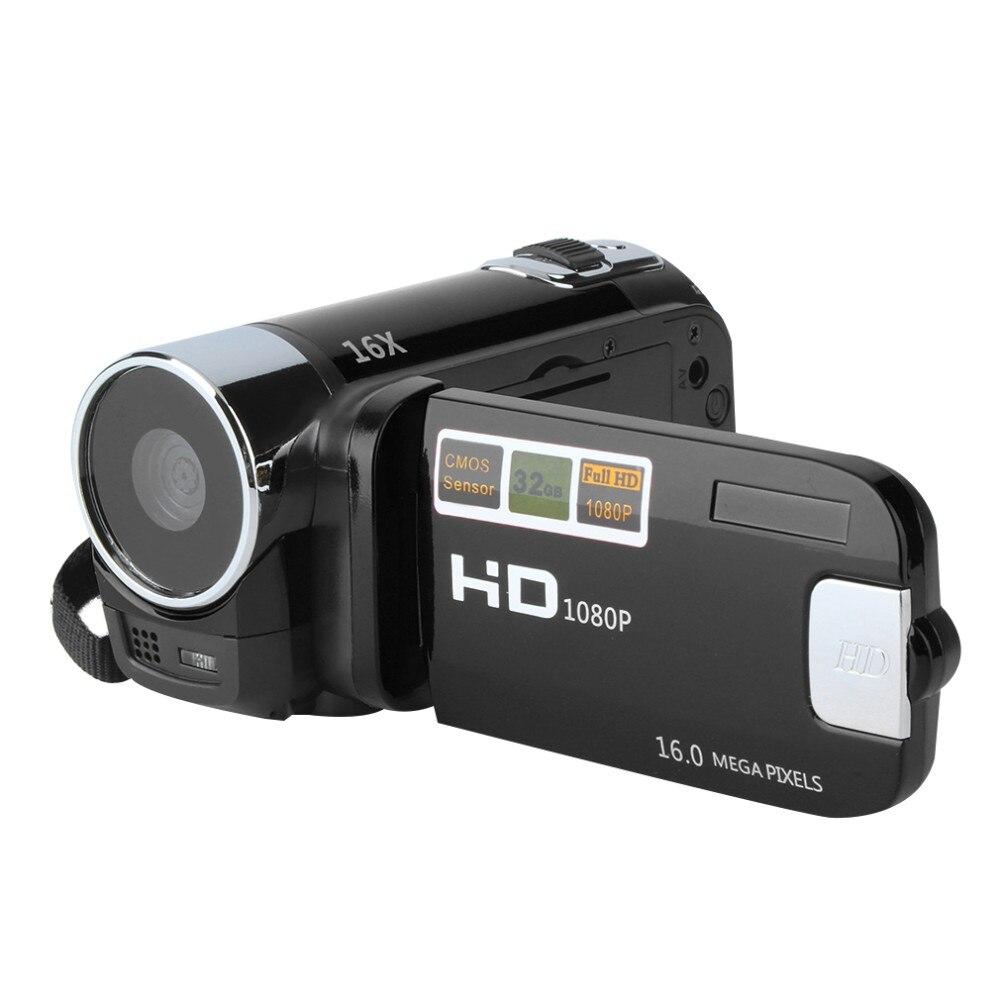 Nouveau 2.7 ''TFT LCD 720P caméscope vidéo numérique 16x Zoom DV caméra prend en charge la sortie vidéo HDMI rouge/noir