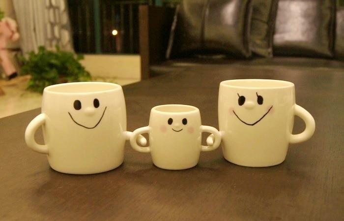 Ceramic Drinking Ware In Mug 3pcsset BabySmile Person Familymom Embrace Mugs Coffee 0three Hug Porcelain Milk And Us27 Dad Cup 5qRAj34L