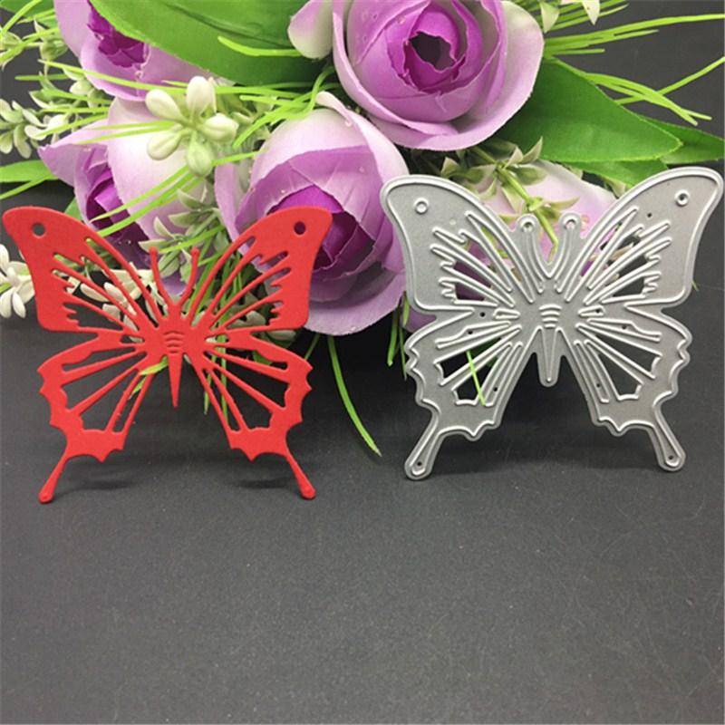 Butterfly Metal Cutting Dies Stencil Scrapbooking Photo Album Card Paper Embossing Craft DIY