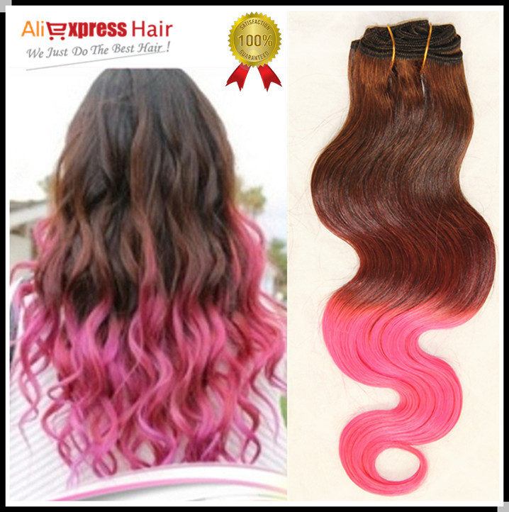 Pink Brazilian Hair4 Fuscia Pink Most Fashionable Brazilian Human