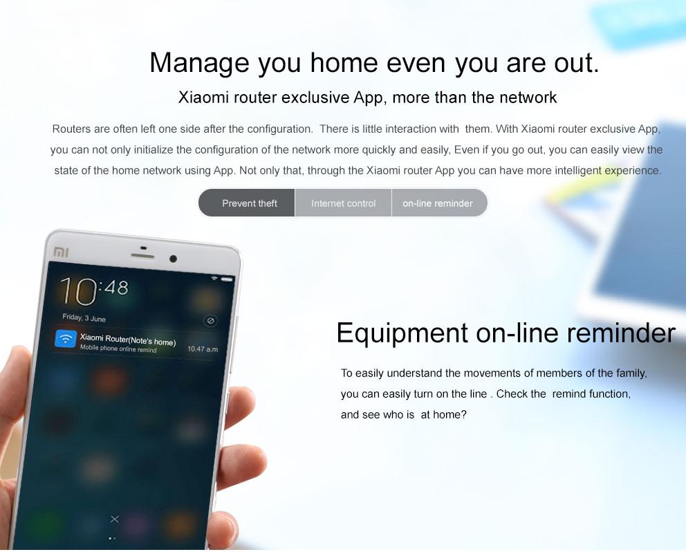 Original Xiaomi Mi WIFI Router 3 CPU MT7620A 2.4G5G WiFi Roteador Dual band 4 antenna APP Control 1167Mbps ok (6)