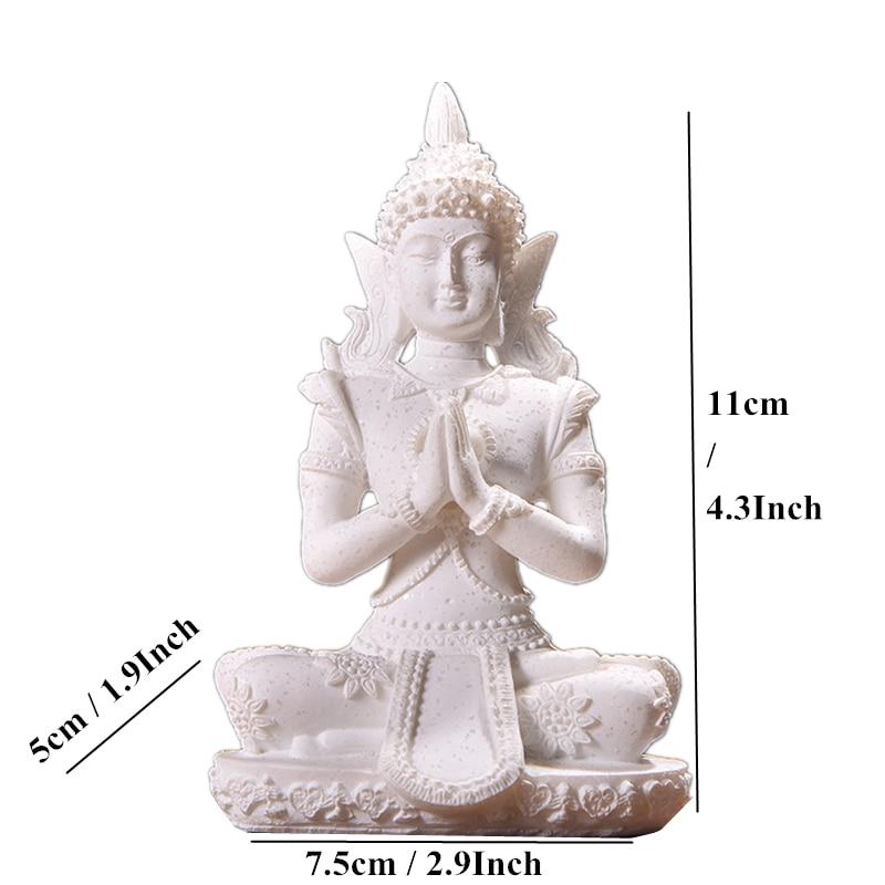 VILEAD 16 estilo estatua de Buda de piedra arenisca natural Tailandia Buda escultura