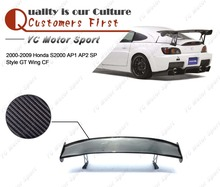 Car Accessories Carbon Fiber Spoon Style 1500mm Trunk GT Wing Fit For 2000-2008 S2000 AP1 AP2 Rear Spoiler