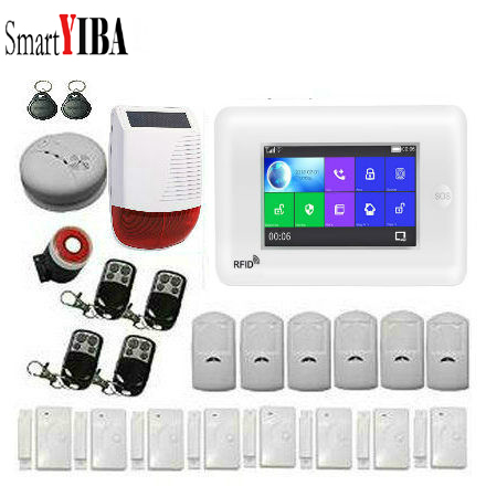SmartYIBA 3G WiFi Drahtlose Smart Alarm System Sicherheit Home mit Video IP Kamera Anti Diebstahl System mit PIR sensor APP Control - 3