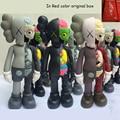Louco Promocional 16 Polegada Originalfake KAWS Dissected Companion Figura Brinquedos Kaws Kaws Falsos Original Com Caixa Original Cor Vermelho
