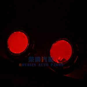Image 2 - ROYALIN Car Styling 3.0 Bi Xenon H1 Projector Lens Metal Holder LHD RHD for Apollo 3.0 Shrouds w/Devil Eyes for H4 H7 Auto Lamps