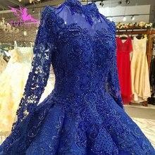 AIJINGYU Lüks gelin kıyafeti Sparkly Artı Boyutu Harika Dükkanı Tüpler Çin Önlük Indirim düğün elbisesi Mağazaları