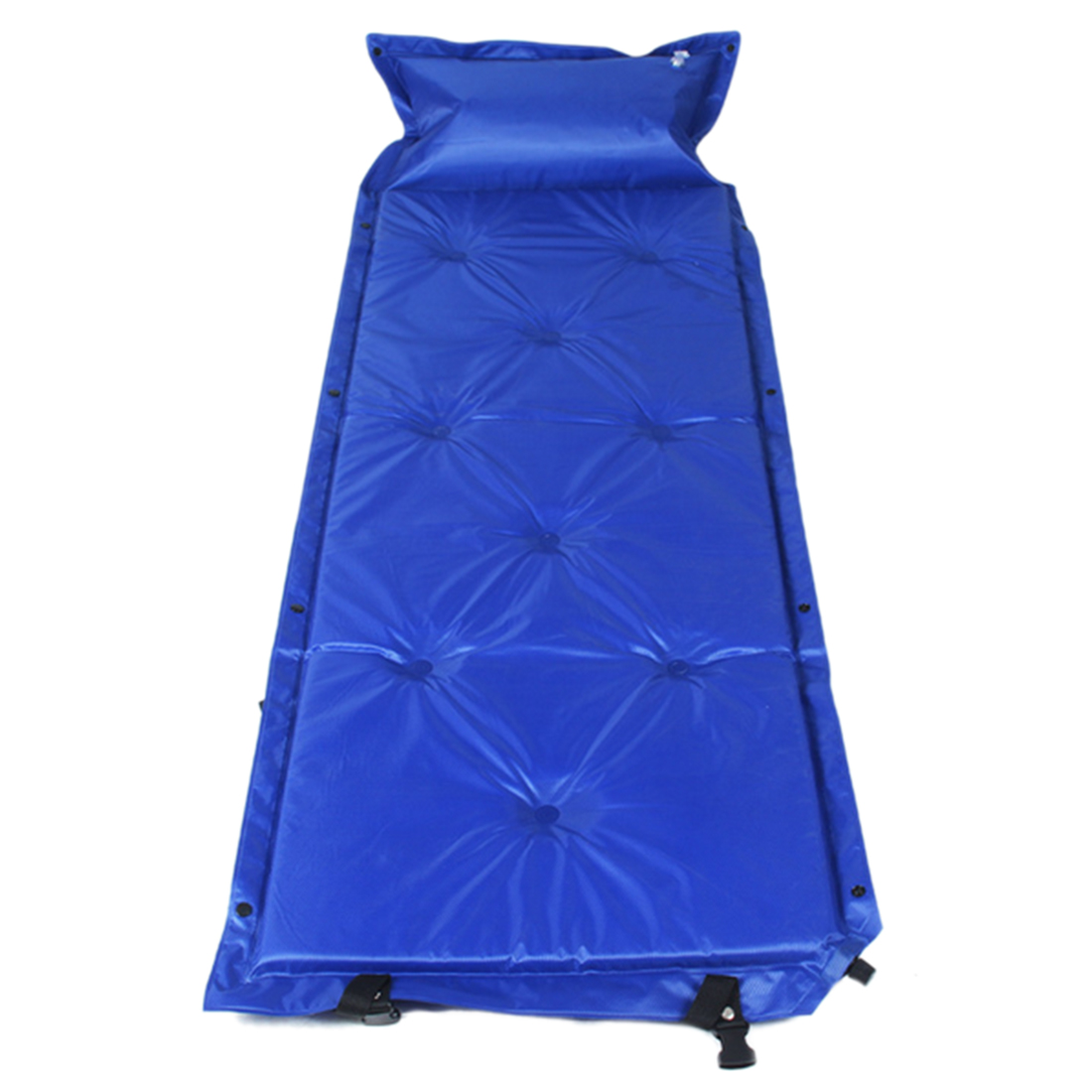 Floor mats to sleep on - Automatic Inflatable Mat Cushion Single Sleeping Mat Camping Sleeping Picnic Mattress Pad With Pillow China