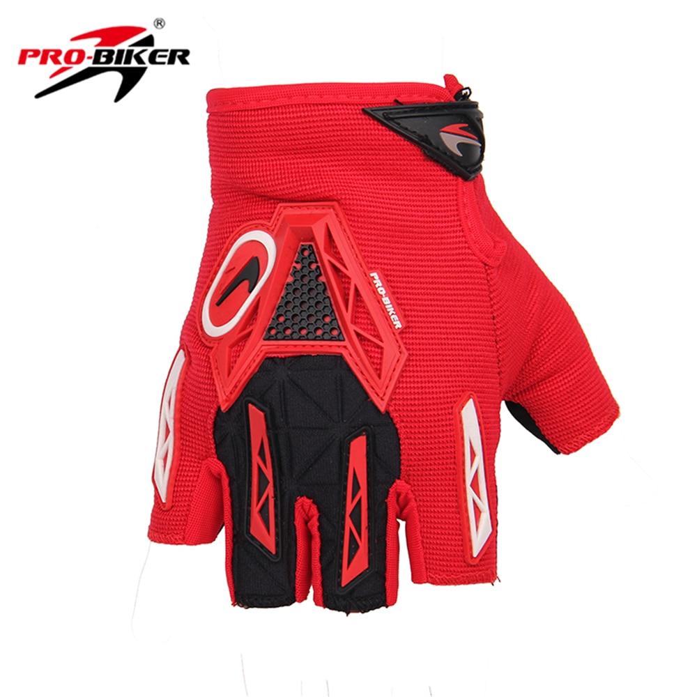 Motorcycle gloves half finger - Pro Biker Half Finger Motorcycle Gloves Mtb Gloves Comfortable And Breathable Motorbike Motocross Downhill Biker