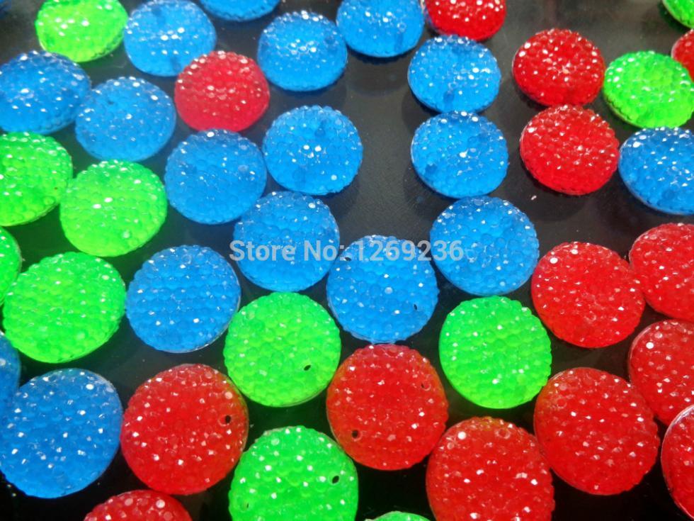 mixed loading Round 16mm stones sew on crystal rhinestones loose beads gemstone hand 150pcs/lot