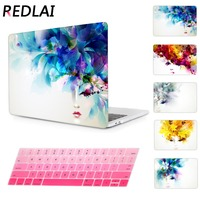 Women Pattern Transparent Crystal For Apple Mac Macbook Pro 13 Case Coverfor Pro 13 15