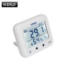 KERUI détecteur dalarme sans fil TD32, écran LED, température réglable, capteur dalarme, compatible avec le système dalarme de sécurité domestique gsm