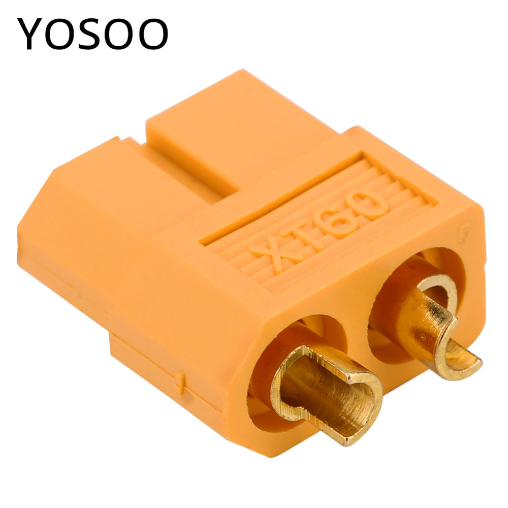 XT60 Male Female Bullet Connector Adapter Plug for RC Drone LiPo font b Battery b font