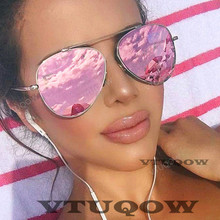 2019 New Luxury Brand Aviation womens Sunglasses Fashion hue Vintage Pilot Sunglass Female Sun Glasses For Women gafas ray bann