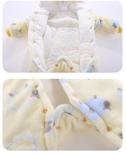 Baby Jumpsuit Romper Hooded For 3m-12m