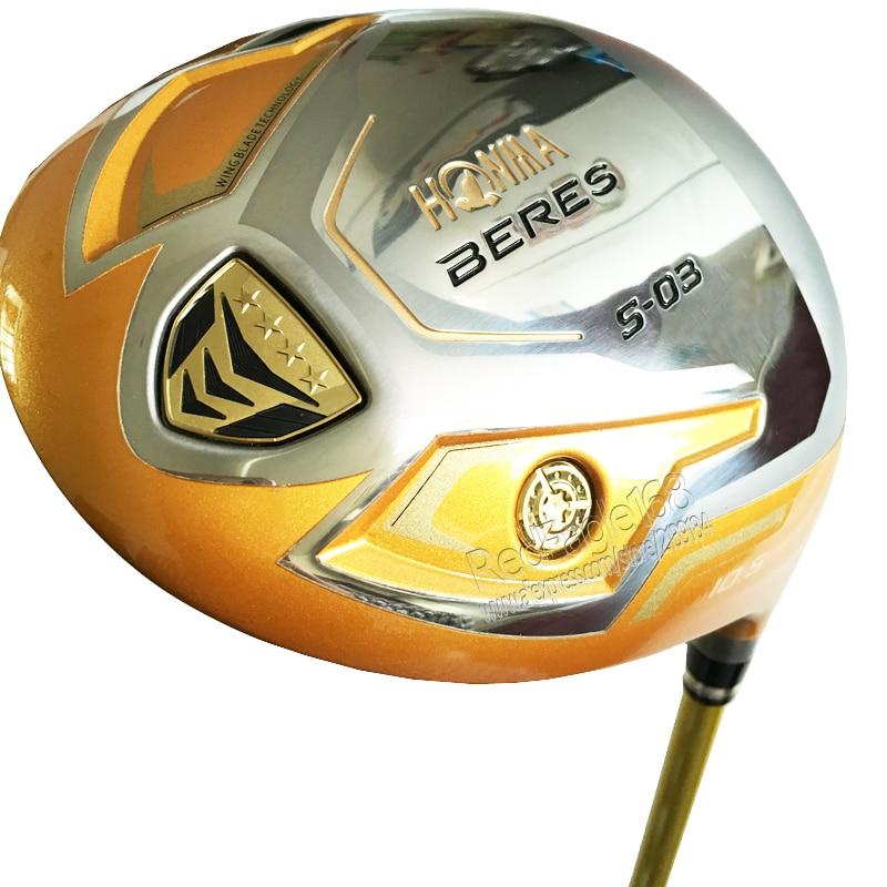 Cooyute New mens Golf clubs HONMA S-03 4 Estrela motorista Golfe 9.5 ou 10.5 loft clubes motorista com eixo do Golfe Grafite Frete grátis