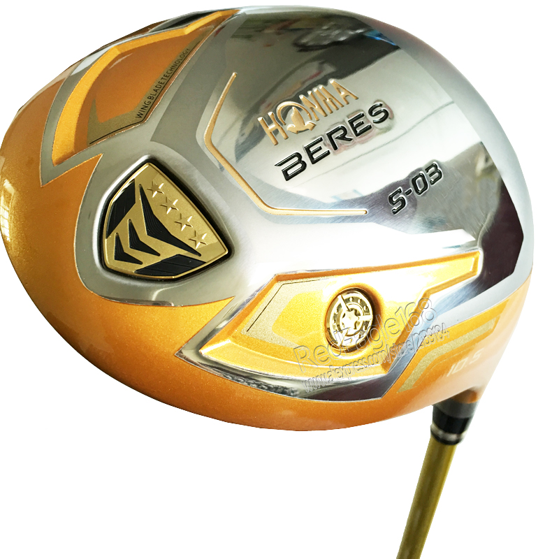 New Mens Golf Clubs HONMA S-03 4Star Golf Driver 9.5 Or 10.5 Loft  Clubs Driver With Graphite Golf Shaft Cooyute Free Shipping