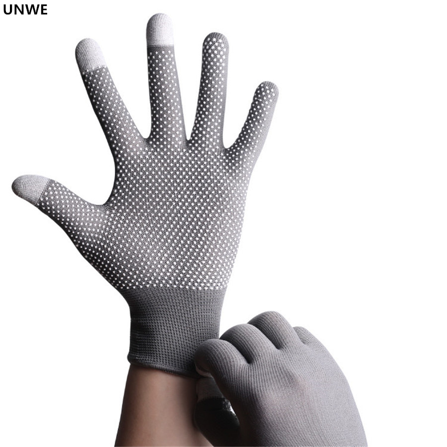 UNWE Breathable Anti Skid Gel Touch Screen Gloves for Summer Suitable for Bike Riding and Driving Enables to Use Phone Without Exposing Hands 9
