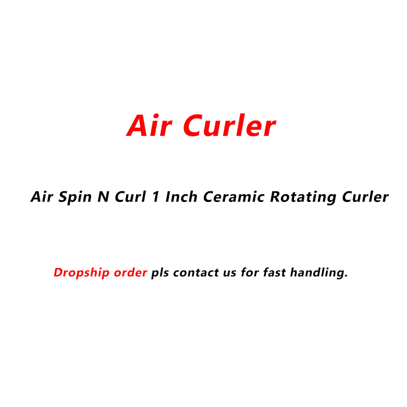 Air Curler Air Spin N Curl 1 Inch Ceramic Rotating Curler