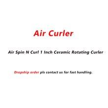 Воздушный бигуди, Воздуха Spin N Curl 1 дюймов Керамика вращающихся бигуди