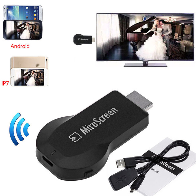 stream iphone to samsung tv wireless wifi dongle phone to tv hdmi adapter 18043