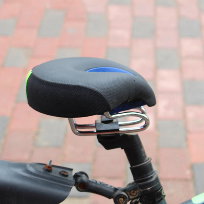 Aspiring 2019 High Quality Soft Bikes Cycling Saddle Bicycle Mtb Mountain Bike Comfort No Split-nose Saddle Cushion Pad Seat Matching In Colour Office & School Supplies