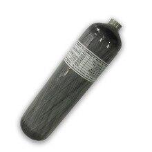 AC103 мини подводный Пейнтбол воздушный бак 3л hp 4500PSI Мини-резервуар для подводного плавания из углеродного волокна Воздушный бак для дайвинга газовый баллон Acecare