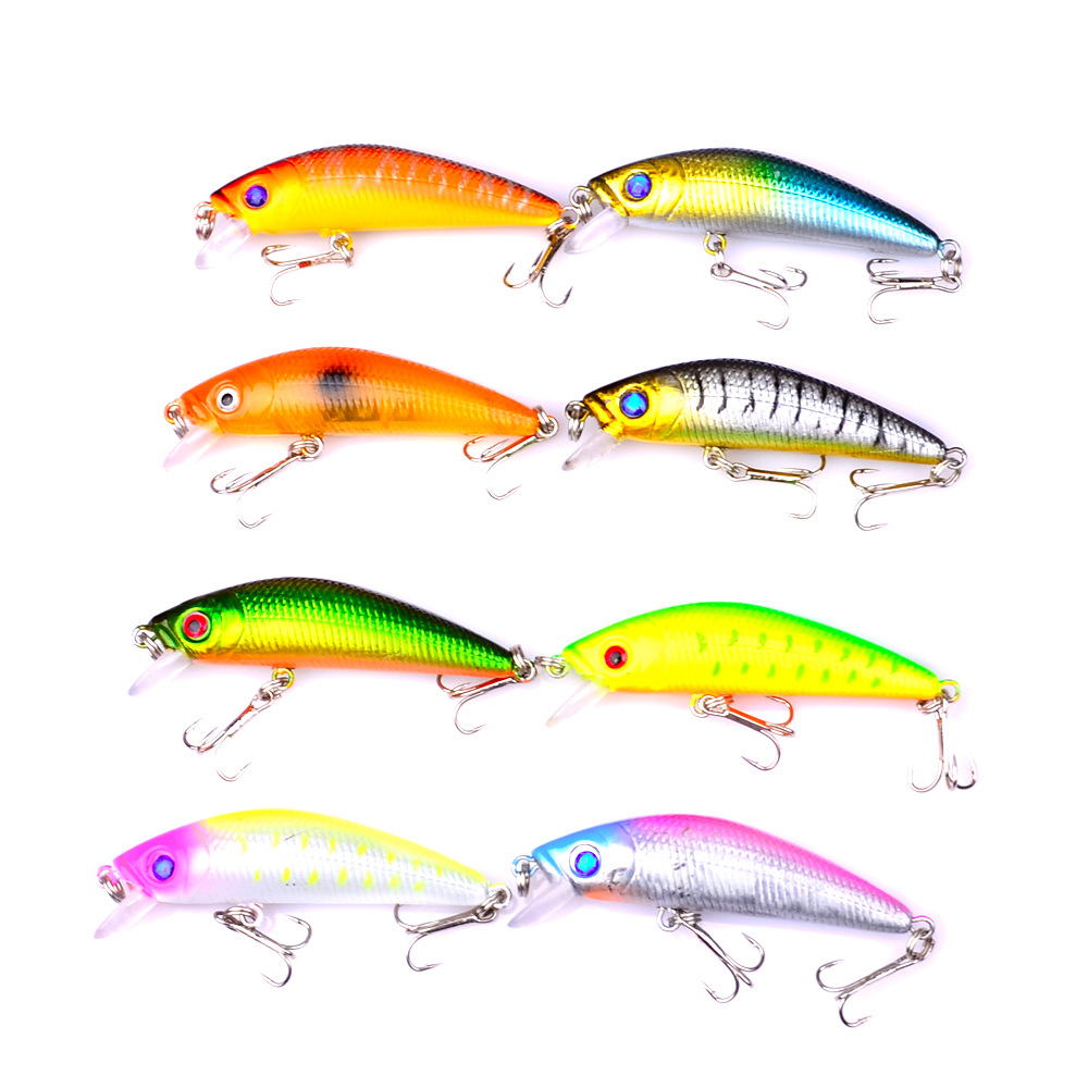 7.2cm 8g Swim Fish Fishing Lure Artificial Hard Crank Bait topwater Wobbler Japan Mini Fishing Crankbait lure FA-202