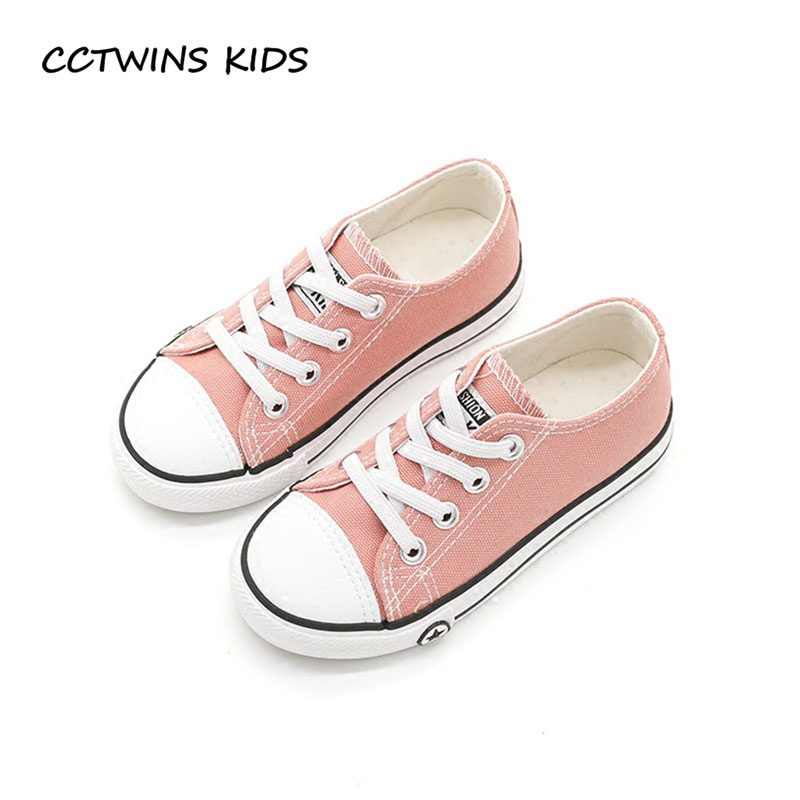 CCTWINS KIDS 2018 Spring Boy Fashion White Trainer Children Black Canvas Shoe  Toddler Brand Sport Sneaker Baby Girl F2045 f9a2f7c56877