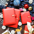 Lovedoki rojo precioso cuaderno dokibook A5A6 semanal planificador agenda 2018 regalo creativo escuela papelería accesorios de oficina