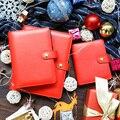 Lovedoki vermelho bonito caderno espiral dokibook A5A6 semanal planejador agenda 2018 criativo presente da escola papelaria acessórios de escritório