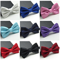 Homens da moda cor sólida verifica gravata borboleta ajustável casamento Bowtie gravata BWTYY0069