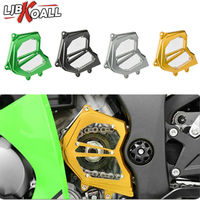 ZX 10R Motorcycle Front Sprocket Chain Guard Cover Left Side Engine Cover For Kawasaki ZX10R 2011 2012 2013 2014 2015 2016