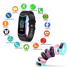 LV08 Smart Band Intelligent Fitness Tracker Wristband Blood Pressure  Heart Rate Monitor Bracelet With Pedometer For Adults