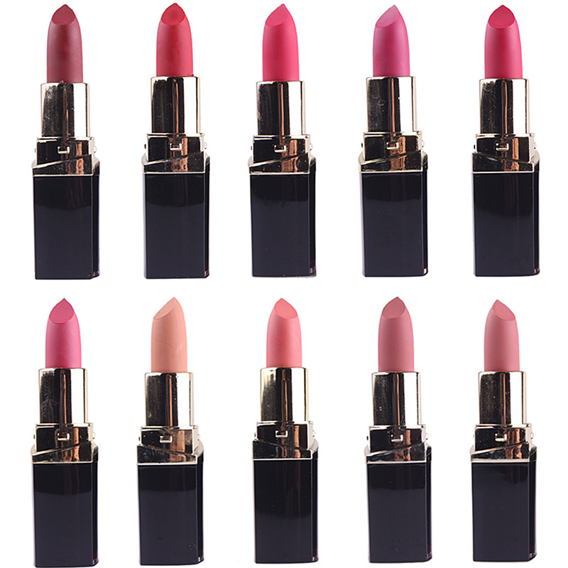 En gros 42 PCS/LOT beauté Sexy mat rouge à lèvres étanche longue durée rouge à lèvres ensemble MISS ROSE marque Kits Comsmetic outils de maquillage