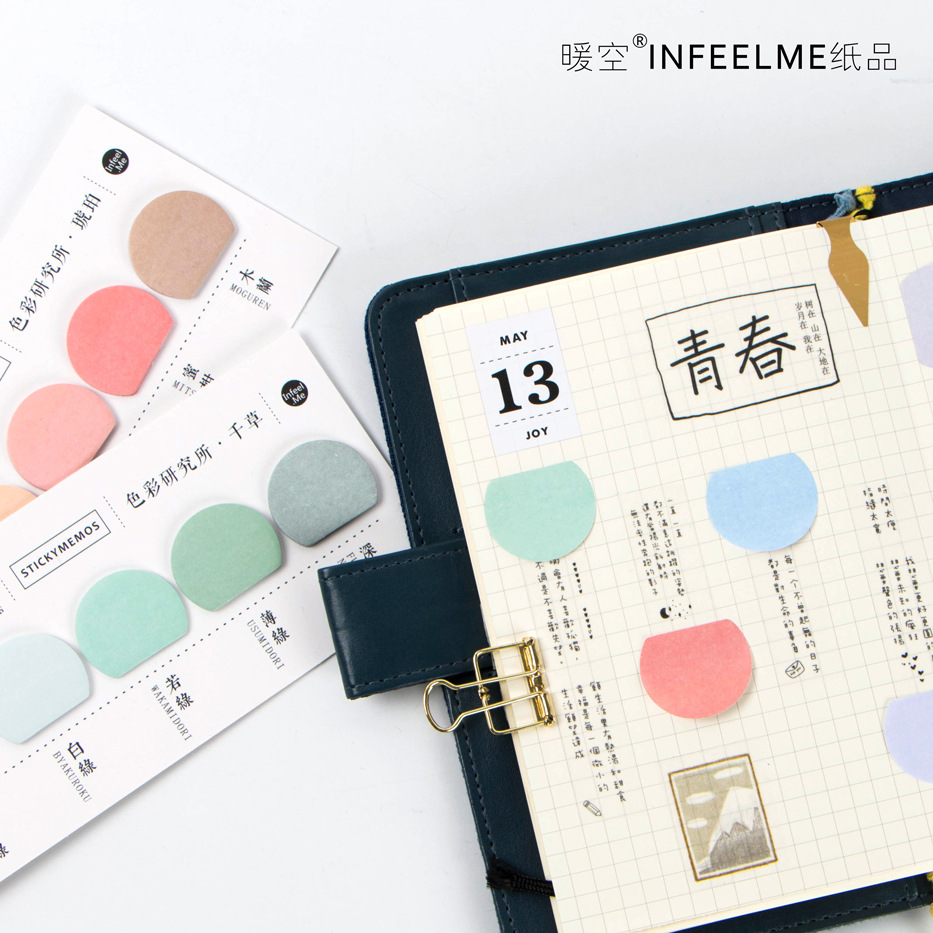 Kawaii Decoration Sticky Notes Stationery Memo Pad Notes Label Sticker Planner Stickers School Supplies