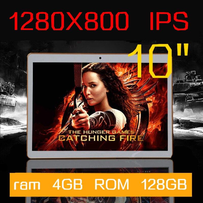 10 inch IPS Octa Core font b Tablet b font ram 4GB ROM 64GB keyboard 5