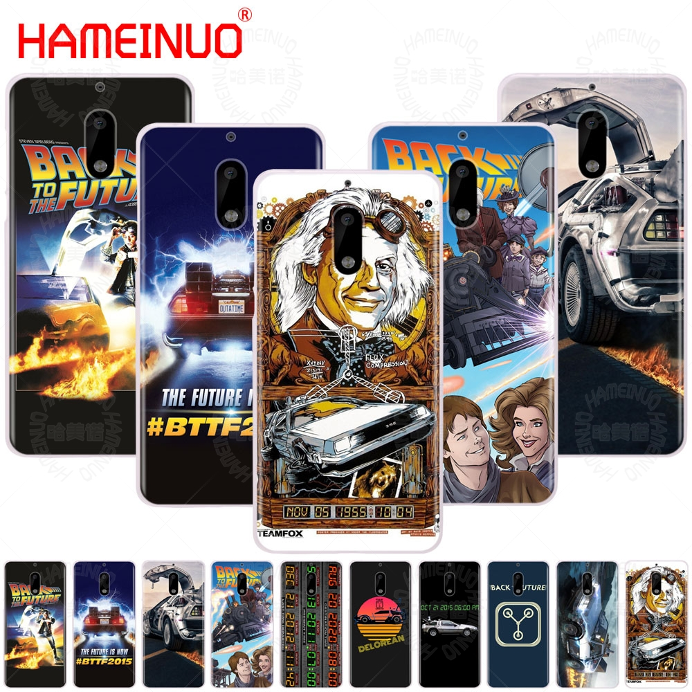 HAMEINUO Delorean Back To The Future time machine cover phone case for Nokia 9 8 7 6 5 3 Lumia 630 640 640XL 2018