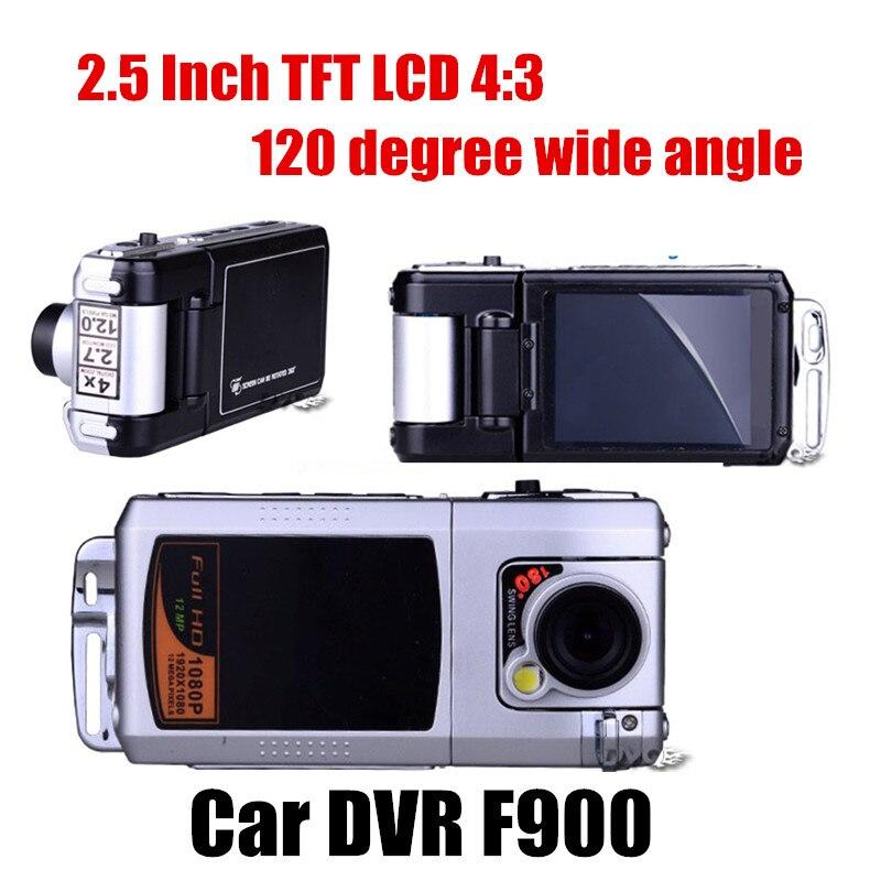 Лучшие продажи Автомобильный ВИДЕОРЕГИСТРАТОР full HD 120 градусов широкий угол 2.5 дюймов ЖК-экран ночного видения видеомагнитофон видеокамера...