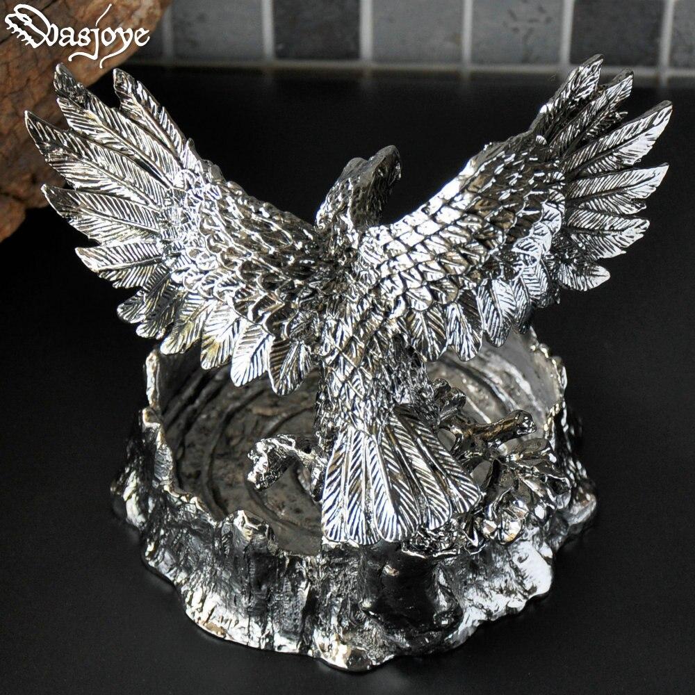 Vintage Eagle Asbak Sigaar Hawk Asbakken Home Decoratie Collectie Metalen Ambachten Verjaardagscadeaus Voor Mannen Mannelijke Vader - 2