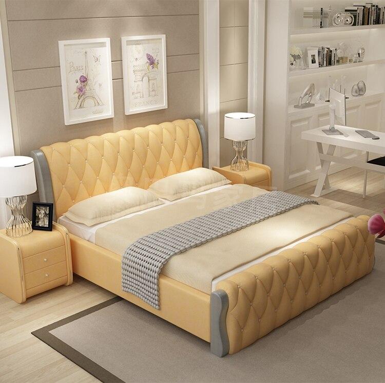 Asombroso Reina Asequibles Muebles Marco De La Cama Colección ...
