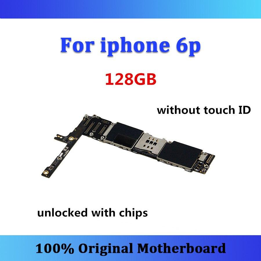 Original logic board unlocked for iphone 6p motherboard 6