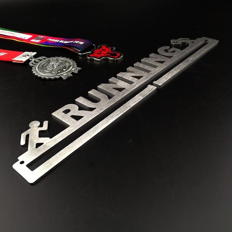 Image 4 - Race medal hanger Running medal holder Sport medal hanger display hold 10~16 medals-in Pins & Badges from Home & Garden