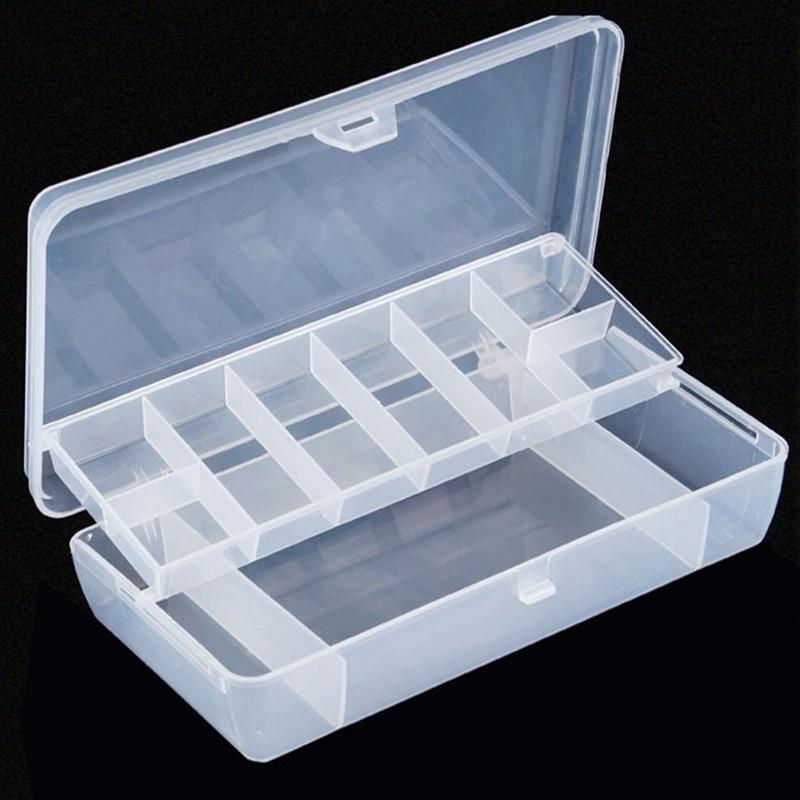 Y059 free shipping sales road asia bait white plastic push for Fishing tool box