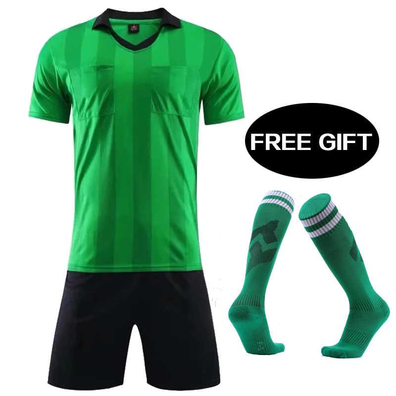 Detail Feedback Questions about mens A+++ soccer tracksuits 2018 referee soccer  jerseys maillot de foot training football shirt referee judge uniform soccer  ... 5aee499da