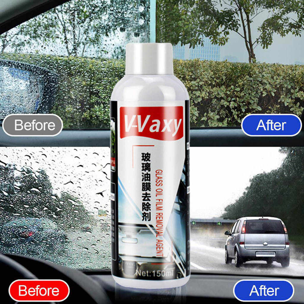 Hot Automotive Glass Coating Agent Rainproof Agent Glass Rain Mark Oil Film Remover Paint Care Car-Styling